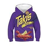 TIYI Ramen Noodle Hoodie,Boys Girls 3D Digital Print Sweatshirt Nutella/Chicken/Beef