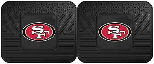 FANMATS 12358 NFL - San Francisco 49ers Utility Mat - 2 Piece