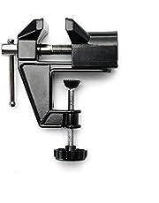 مقاعد البدلاء ملزمة إطار الجدول الألومنيوم المحمولة للشركات الصغيرة والحرف اليدوية ، النجارة (أسود)