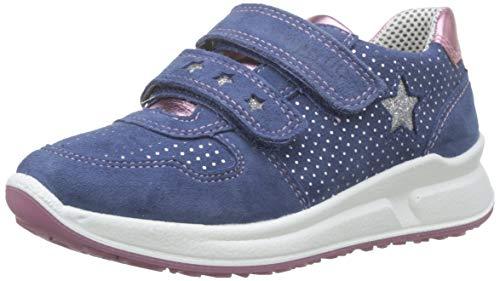 Superfit Mädchen Merida Sneaker, Blau (Water Kombi 88), 27 EU