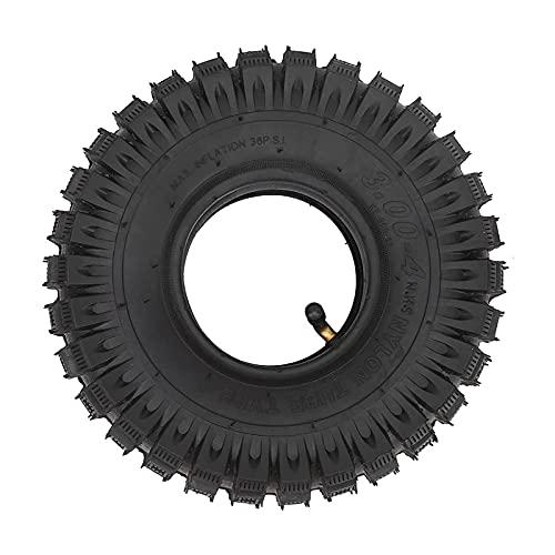 DAIYUDEYZ Neumático para Scooter Eléctrico, Duradero y Fácil de Instalar Neumático para Scooter 3.00-4