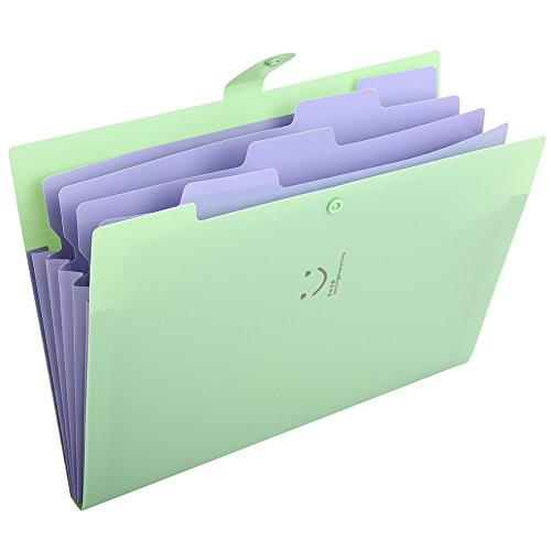 KAMA BRIDALファイルフォルダ a4 ファイルケース 5分類 書類挟み 紙挟み ドキュメントスタンド ファイルボ...