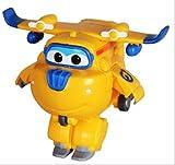 7cm Mini Super Wings Deformation Mini Jet Abs Robot Juguete Figuras De Accin Super Wing Transformation Toys para Nios Regalo Donnie