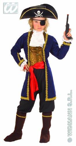 Widmann wdm55606 ? Costume pour enfants Pirate des 7 mers (128 cm/5 ? 7 ans), multicolore, XXS