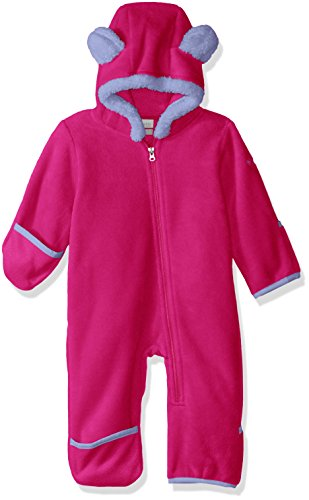 Columbia Fleece-Overall für Kleinkinder, Tiny Bear II Bunting, Polyester, Rosa (Cactus Pink), Gr. 3/6, 1523741