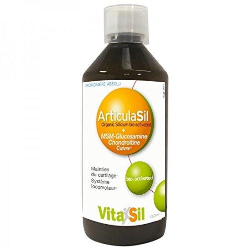 Vitasil 7920011389 Articulasil Silicium Organique Bio Activé + MSM-Glucosamine Chondroïtine