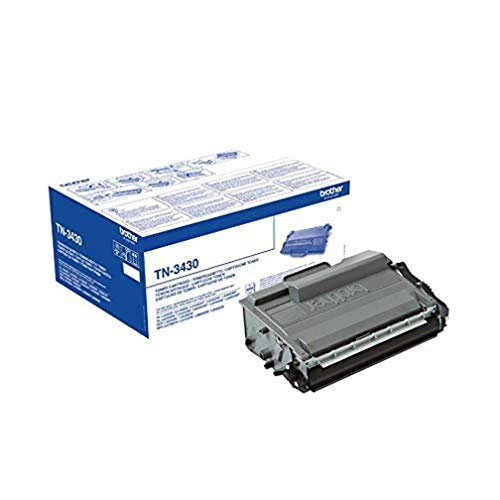 Brother Original Tonerkassette TN-3430 schwarz (für Brother HL-L5000DN, HL-L5100DN, HL-L5100DNT, HL-L5100DNTT, HL-L5200DW, DCP-L5500DN, MFC-L5700DN, MFC-L5750DW)
