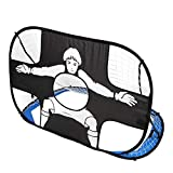 GU YONG TAO Foldable 2 In 1 Soccer Goal Net For Kids, Waterproof, Tear Resistant, Easy To Clean, Abrasion And...