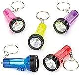 Baker Ross Llaveros de linternas en Miniatura a Precio de ganga (Paquete de 6) Regalos para bolsas de cotillón y para jugar con niños