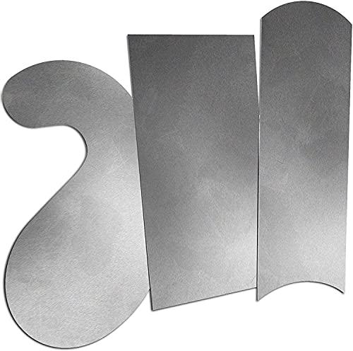 ATLIN Cabinet Scraper Card Set - Curved 3pc