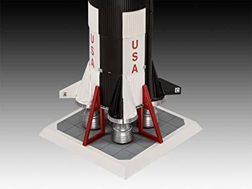 Revell 03704 Apollo 11 Saturn V Rocket Model Kit, White