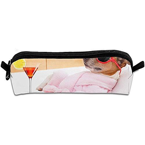 Badjas en grappige zonnebril grote capaciteit potlood doos Student Office High School potlood geval