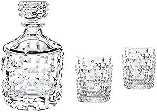 Spiegelau & Nachtmann, 3-teiliges Whisky-Set, Dekanter  2 Becher, Kristallglas, Punk, 0099501-0