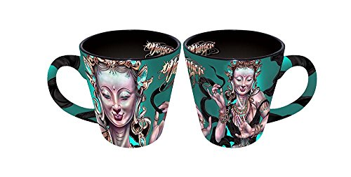 James Danger Harvey 14 Oz Latte Mug Buddha Dancer
