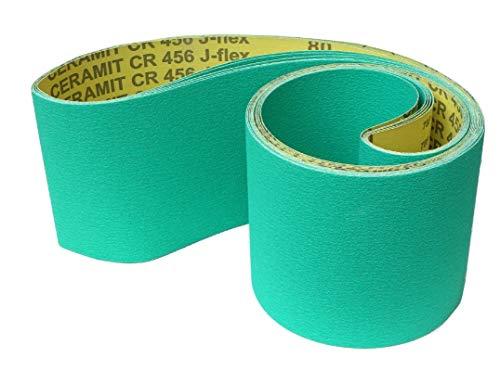 Hermes CERAMIT CR 456 J-flex Schleifband | 150 x 2000 mm | 5 Stück | Körnung: 120