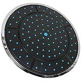 Momyeah soffione doccia25Cm di plastica a forma rotonda di forma circolare a pioggia. Box doccia con doccia