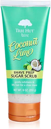 Tree Hut Bare Shave Prep Sugar Scrub, 9oz, Essentials for Soft,...