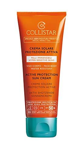 Collistar Crema Solare Protezione Attiva Pelli Ipersensibili - 100 ml.