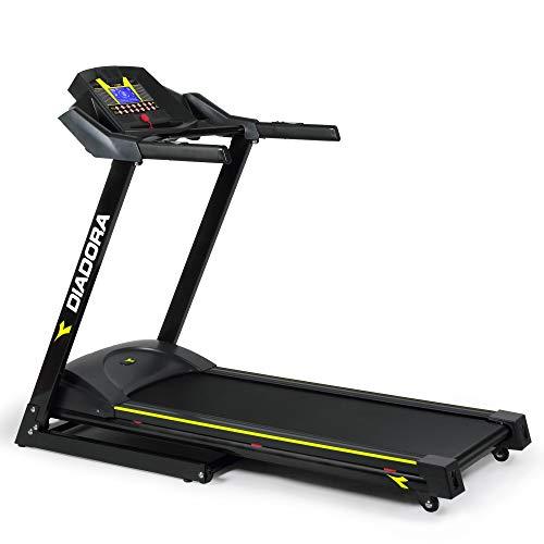 Diadora Fitness Edge 2.6, Tapis Roulant, Nero