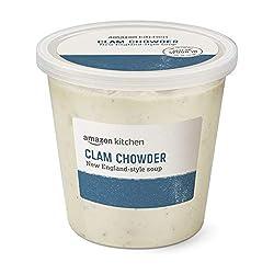 Amazon Kitchen, Clam Chowder New England-Style Soup, 24oz