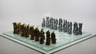Fantasy Dragon Chess Set