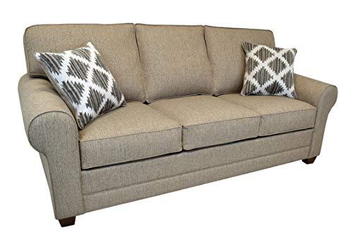 Beam & Oak Bevan Fabric Sofa, Beige