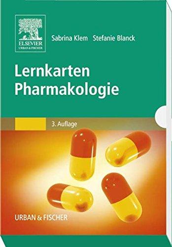 Lernkarten Pharmakologie