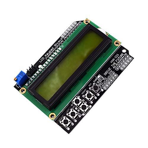 SANKUAI LT-3d, 1 stück lcd1602 iic i2c TWI 1602 16x2 serielles LCD-Modul Display LCD-Tastatur Schirmbrett-Modul für Arduino (Farbe : As Shown)