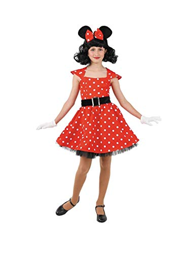 DISBACANAL Disfraz ratita Minnie niña - -, 6 años
