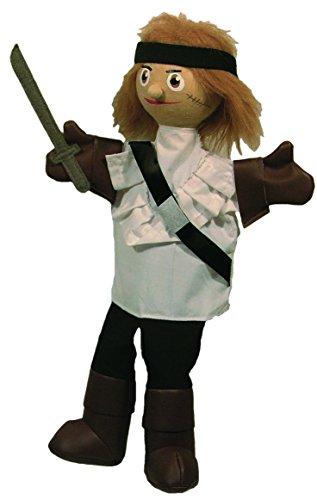Sycomore MA35032 - Marionnette à Main 35 cm - Zach Le Corsaire