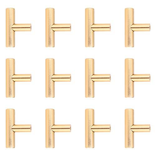 VOSAREA pomos de Puertas de armarios para cajones de cajones Tiradores y Tiradores de cajones metálicos t pomos de armarios