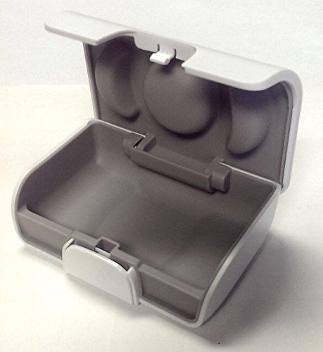 Unitron White Hearing Aid Case- Size Large
