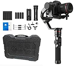 FeiyuTech Feiyu AK2000 DSLR Camera Gimbal 3-Axis Handheld Stabilizer with Tripod for Panasonic GH5 GH5S Sony A7 Canon 5D, ...