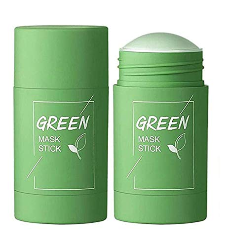 HAVAJ Green Tea Purifying Clay Stick Mask, Removes Blackheads and Deep Cleansing Oil Control,Suitable for All Skin Types