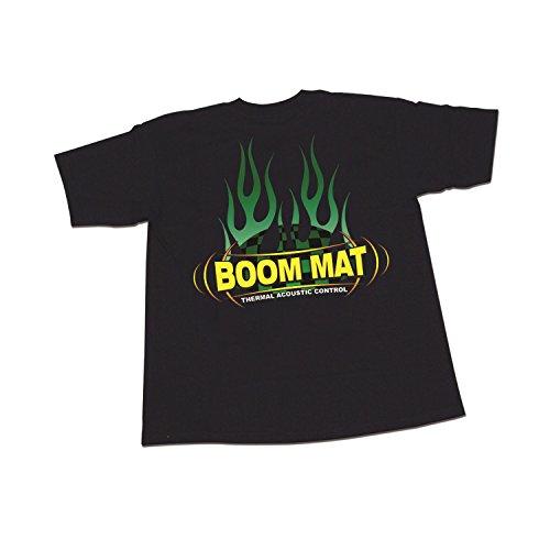DEI 070136 Boom Mat T-Shirt, Größe XXXXL, Schwarz