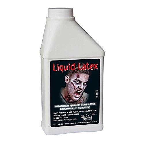 HA9024 Low Ammonia Liquid Latex 16oz Halloween