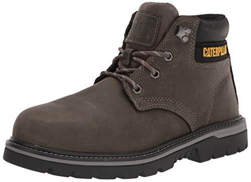 Caterpillar Men's Outbase Steel Toe Work Boot, Charcoal Grey 9.5 W US