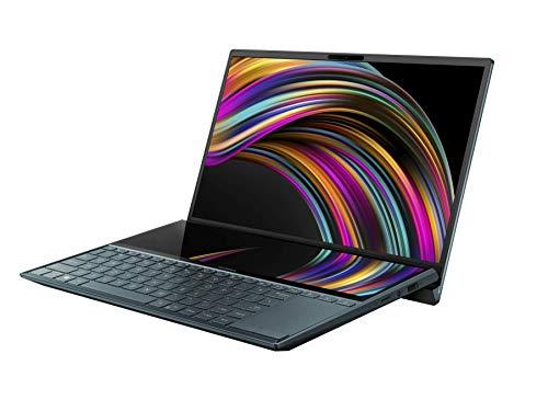 ASUS ノートパソコン ZenBook Duo UX481FL( Core i5-10210U / 8GB・SSD 512GB・Optaneメモリ 32GB / 14インチ / FHD(1920×1080×1, 1920×515×1) / WPS Office / 1.66 kg )【日本正規代理店品】【あんしん保証】UX481FL-HJ118T/A