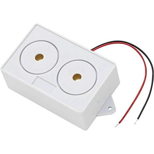 100 dB 15 W   1 St. KEPO SH1998C2 Miniatur Lautsprecher Geräusch-Entwicklung