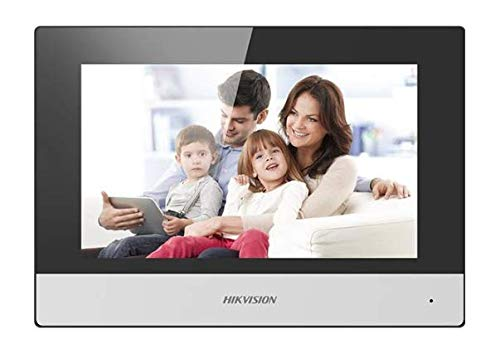 HIKVISION DS-KH6320-WTE1 Video Intercom Indoor Station w/7' Touch Screen