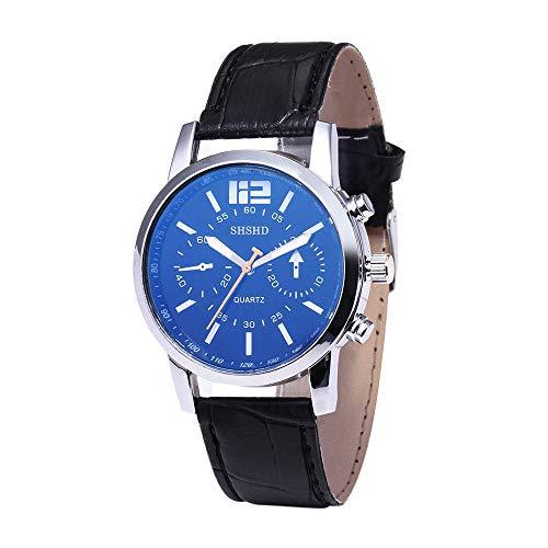 YOUZHA Armbanduhren Herrenuhr Minimalist Series Blue-ray Glas Quarz-Armbanduhr-G