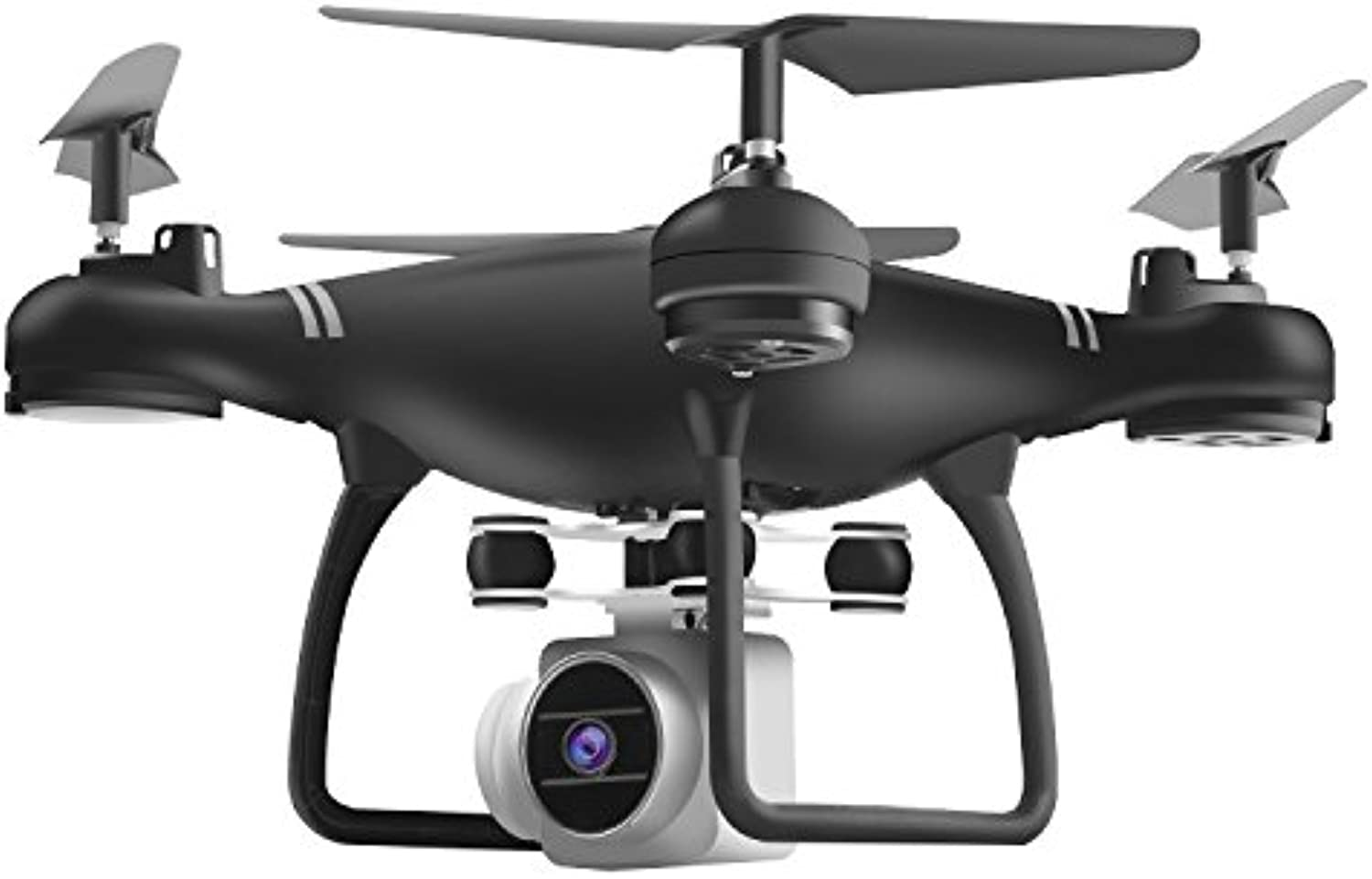 DishyKooker HJ14W WiFi Remote Control Aerial Photography Drone HD Camera 200W Pixel UAV Gift Toy Black