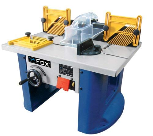 FOX F60-100A Router Table, Blue, One Size