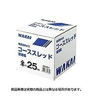 若井産業 ユニクロ コーススレッド ラッパ 徳用箱 半ネジ 100 160本 6箱
