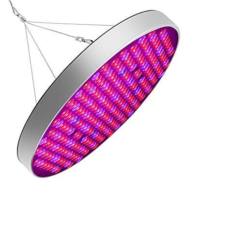 QWESHTU LED Grow Glühbirne 50W Wachstumslampe Für Zimmerpflanzen 250 LED Rot Blau UV IR Weiß Vollspektrum Pflanzenlichter Panel