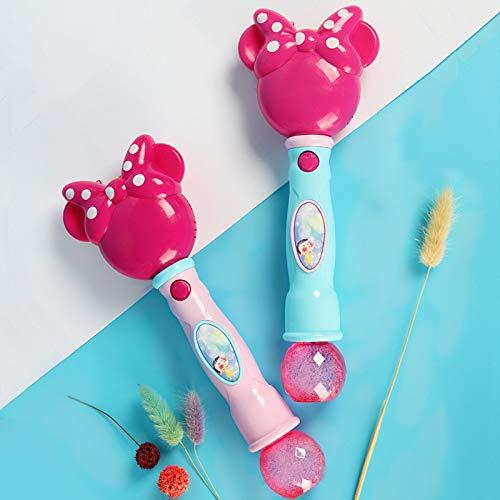 Seifenblasenmaschine Bubble Stick OutdoorBubbleMaschine für Kinder BubbleMaschine für Kinder für Musikspielzeug Cartoon Electric Bubble Machine