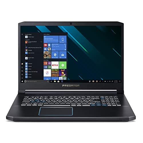 Predator Helios 300 PH317-53-785Z Notebook Gaming con Processore Intel Core i7-9750H, RAM 16 GB DDR4, 256GB SSD, 1 TB HDD, Display 17.3