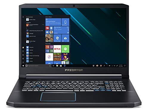 "Predator Helios 300 PH317-53-785Z Notebook Gaming con Processore Intel Core i7-9750H, RAM 16 GB DDR4, 256GB SSD, 1 TB HDD, Display 17.3"" FHD IPS 144Hz, NVIDIA GeForce GTX 1660Ti 6GB, Windows 10 Home"