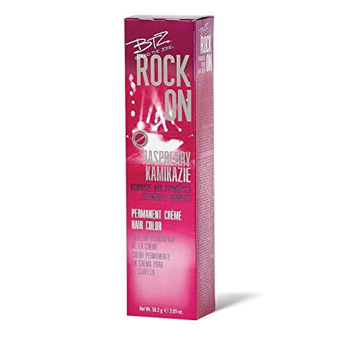 Beyond the Zone Rock On Permanent Creme Hair Color Raspberry Kamikaze Raspberry Kamikaze