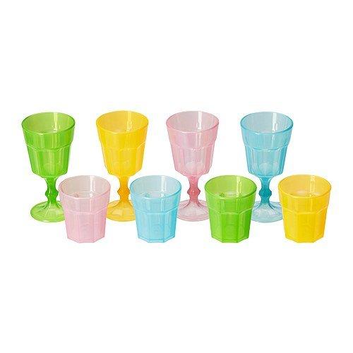 IKEA Duktig Glas, Mehrfarbig